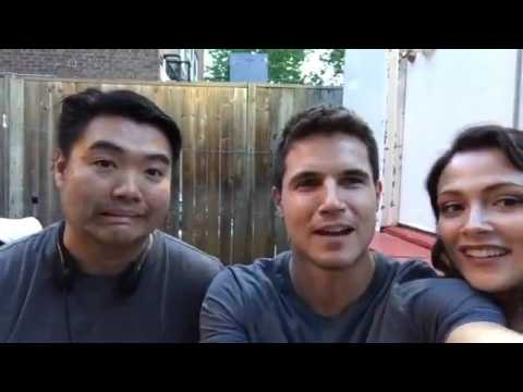 Robbie Amell Facebook  Live from the set of Code 8 Code8.com