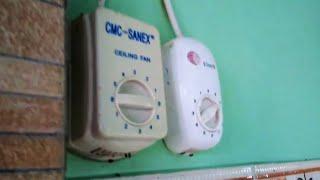 CMC SANEX Ceiling Fan broken