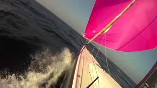 J/111 Piranha test sail