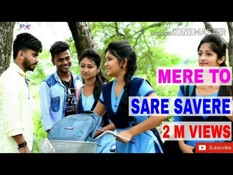 Mere To Sare Savere | Heart Touching Love Story 2018 | Cover Song
