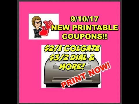 photograph regarding Luvs Printable Coupons identify 9/10/17 PRINTABLE Discount codes COLGATE, DIAL, LUVS, CREST Far more!