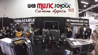 NAMM 2015 - Booth Unbeatable - Carmine Appice
