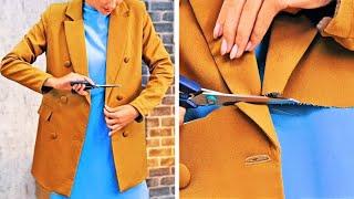 오래된 옷을 리폼하는 창의적인 아이디어 || 여성용 옷…