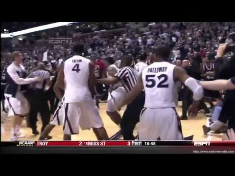 Best College Basketball Fights!!! HD
