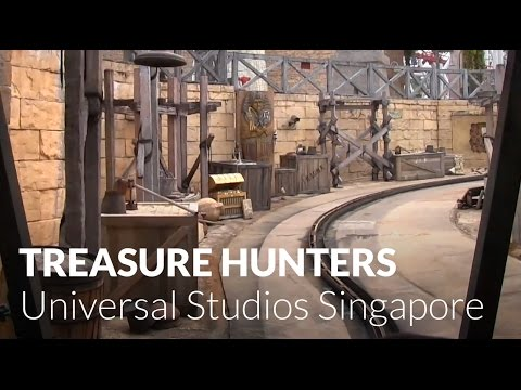Treasure Hunters at Universal Studios Singapore