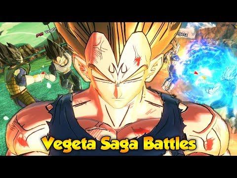 Which Z Vegeta is the Strongest?! - Saga Battles! Dragon Ball Xenoverse 2