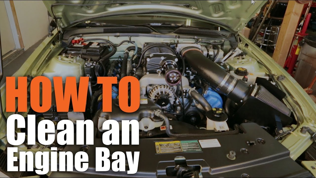Best Way Clean Engine Compartment