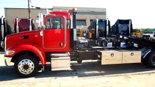2012 Peterbilt 337 Rollback Wrecker 15,000 lbs deck Loaded