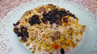 Lentil Rice | Adas Polo | عدس پلو