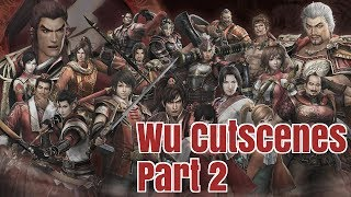 dynasty warriors 8 xl ce all wu cutscenes part 2 1080p ps4