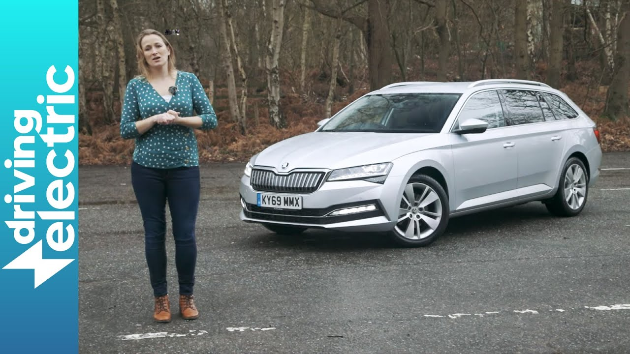 Skoda Superb Estate Hybrid Review Drivingelectric Youtube