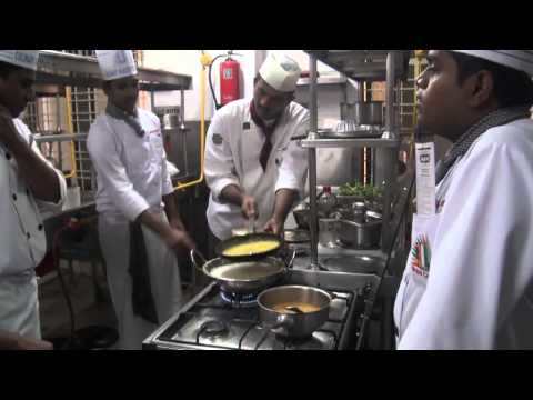 Making of motichoor ladoo@Culinary academy of india