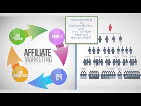 What is the difference between Affiliate Marketing and Network Marketing?