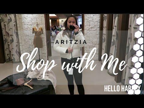 Aritzia TNA Super Puff Shorty| Shop With Me!