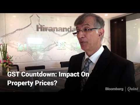 GST Countdown: Impact On Property Prices? Niranjan Hiranandani Explains.