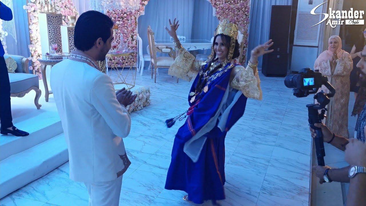 عروسة تشطح بالحولي التوزري الجريدي مهبلة العريس و الحاضرين ❤