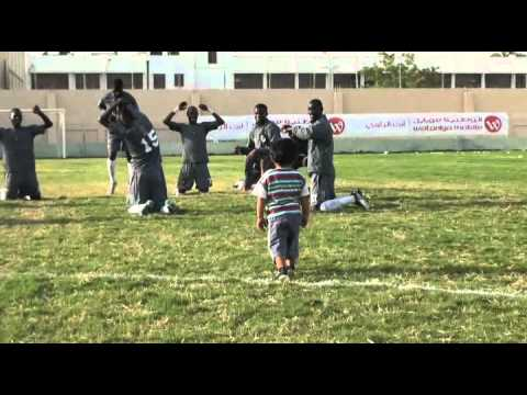 Kid Train Mauritania Soccer Team