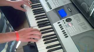 Lambada - piano (keyboard PSR-E413) by Jamie