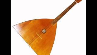 Russian Folk Music Kalinka on balalaika