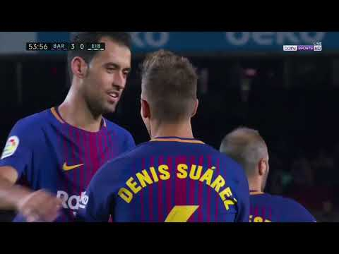 FC Barcelona vs SD Eibar 6-1 - All Goals & Highlights 17/18 (HD)