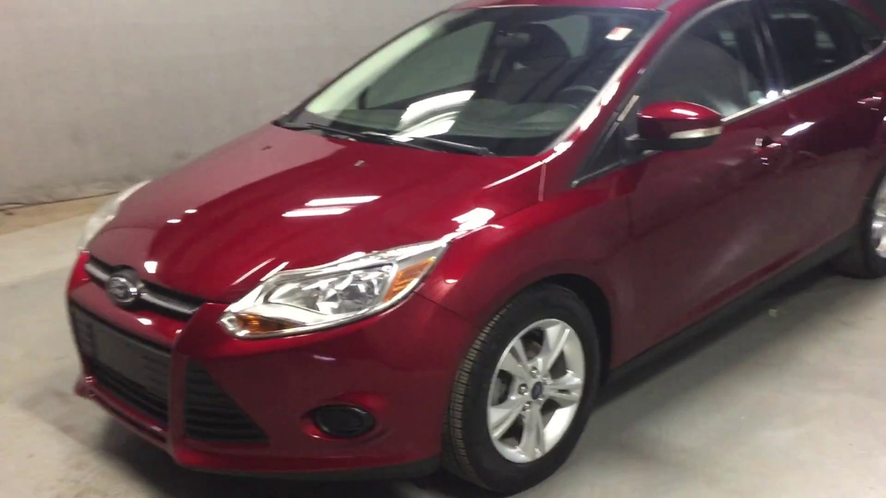 P8777a Pre Owned 2013 Ford Focus Se Fwd 4d Sedan