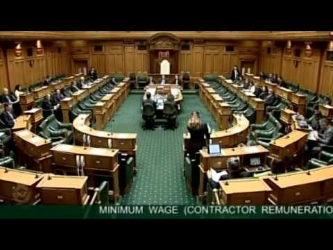 Minimum Wage (Contractor Remuneration) Amendment Bill Committee Stage taken as one debate - Part 13