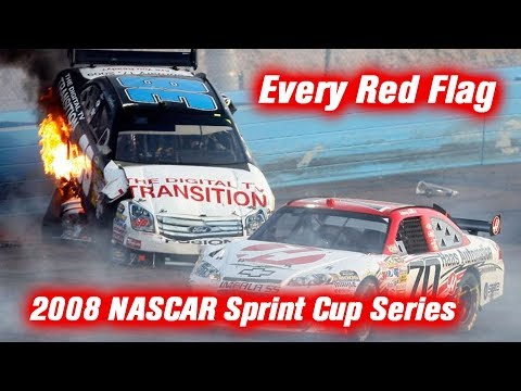 Every Red Flag: 2008 NASCAR Sprint Cup Series