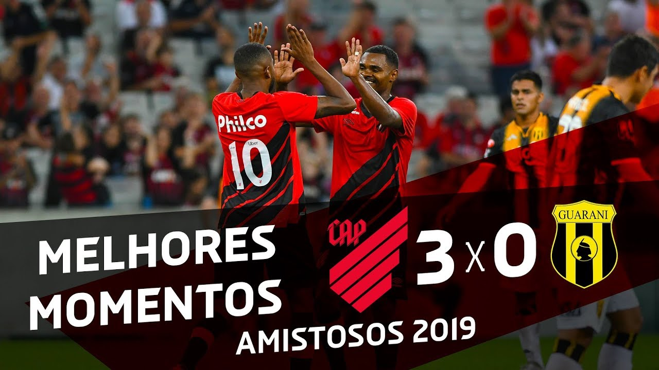 Athletico Paranaense 3x0 Guarani Melhores Momentos Youtube