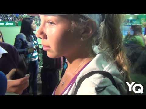 Estadounidense Amanda Anisimova campeoniza en la Copa de Café