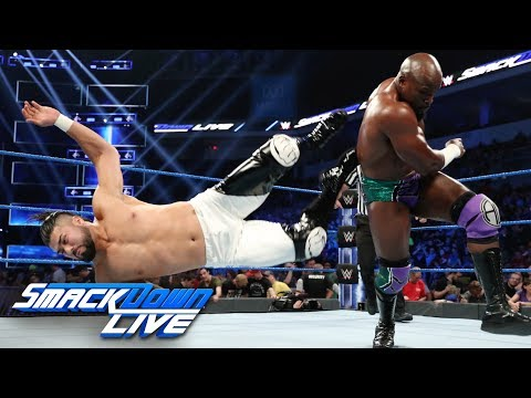 Apollo Crews vs. Andrade – King of the Ring First-Round Match: SmackDown LIVE, Aug. 20, 2019