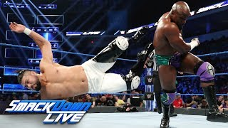 Apollo Crews vs. Andrade - King of the Ring First-Round Match: SmackDown LIVE, Aug. 20, 2019