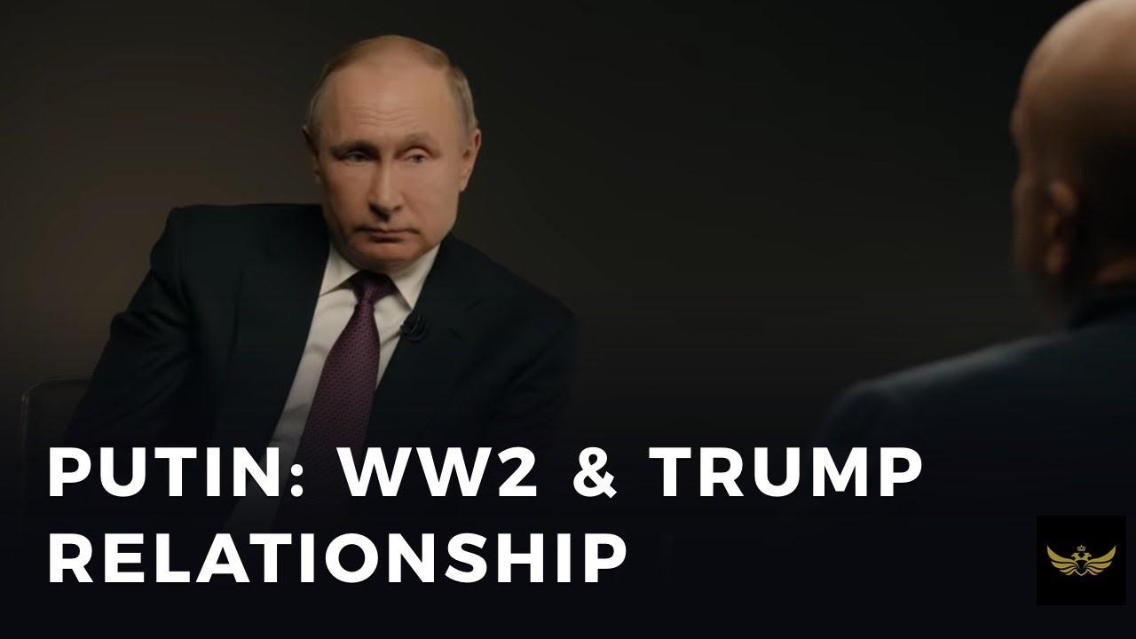 "Putin calls EU MPs ""ignorant people"", grades relationship with Trump C MINUS"