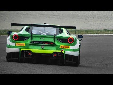 [3D Binaural Audio] GTs, Prototypes & Touring Cars Testing At Monza Circuit!