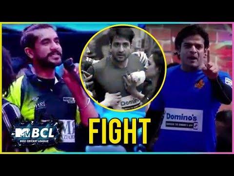 Karan Patel, Suyash Rai, Aly Goni Heated Fight!   Box Cricket League 2018