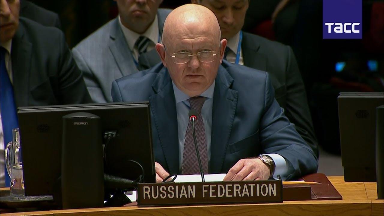 Небензя: США, Великобритания и Франция допускают беспрецедентное хамство в отношении РФ