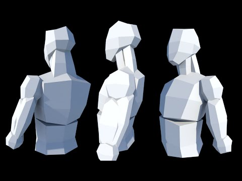 Character Modelling 2.2: Roughing Out the Torso