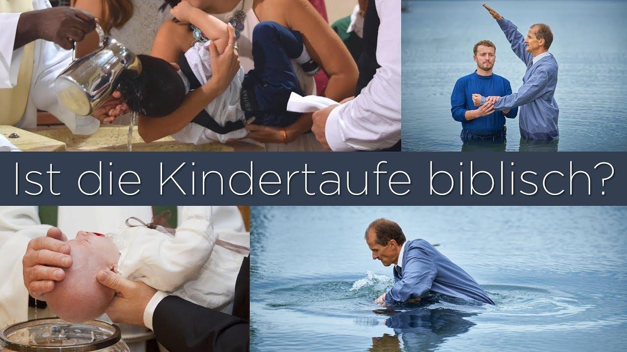 Soll ich mein Kind taufen lassen? was ist die biblische