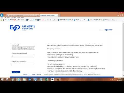 Handepay: Business Resource Centre Demonstration