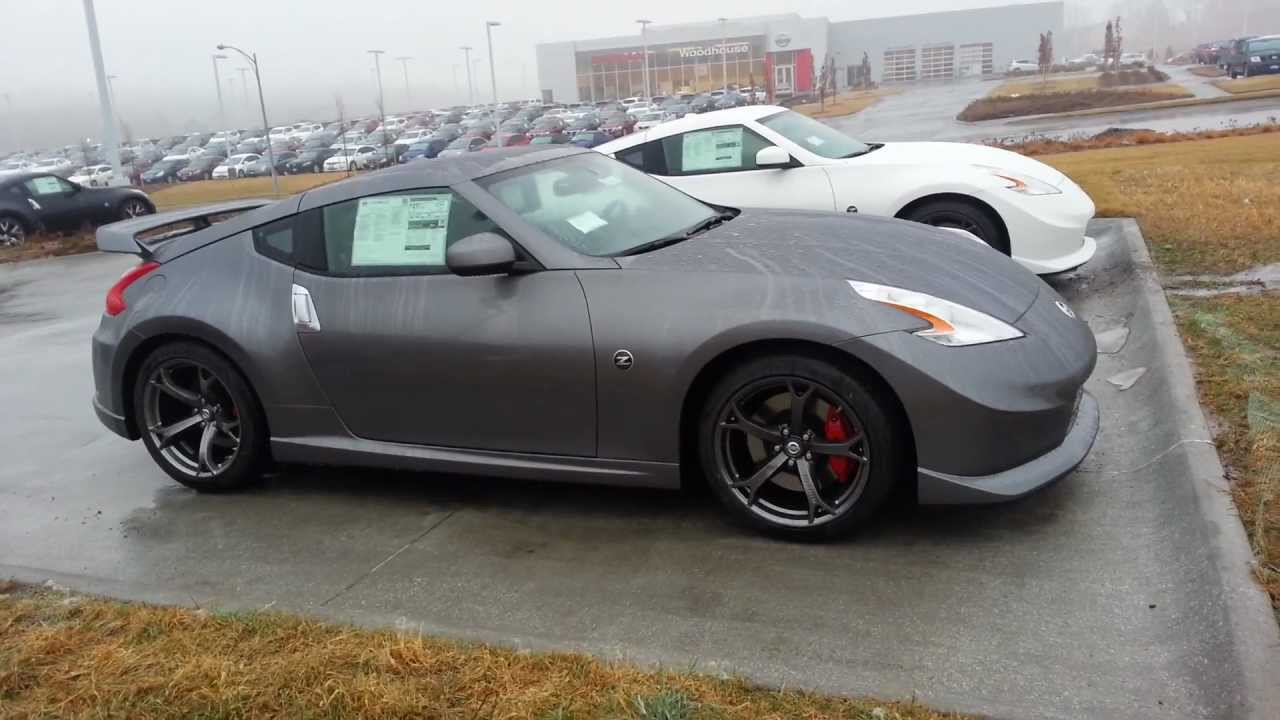Nissan 370z Nismo 2013 White Amp Grey Youtube