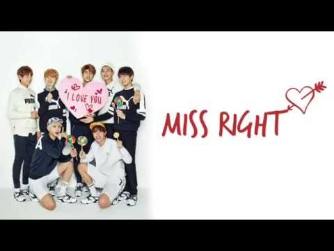 Miss Right Hangul | Romanized | English | Colour coded | Lyrics