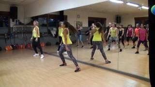 Zumba à Liège - warm up 1 - Dj Milan feat. Rodrigo de Oliveira - Samba Africa - Step Vol.3
