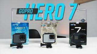 Mở hộp GoPro HERO 7 Black, HERO 7 Silver, HERO 7 White: có livestream, chống rung siêu tốt