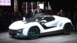 Tamo Racemo unveiled at Geneva is Tata's first production ready sportscar