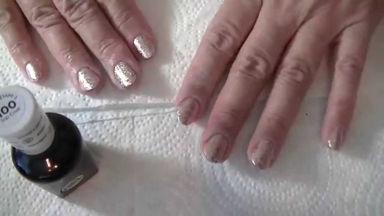 Miracle Gel Top Coat over OTHER nail polish - YouTube