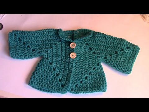 Bekend Haken - tutorial #27: babyvestje - YouTube #FS41