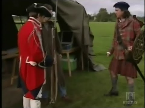 culloden- two men in a trench