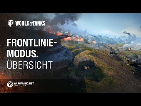 Frontlinie-Modus. Übersicht  [World of Tanks Deutsch] thumbnail