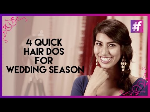 Quick DIY Hair Styles For The Wedding/Party Season | #fame Fashion