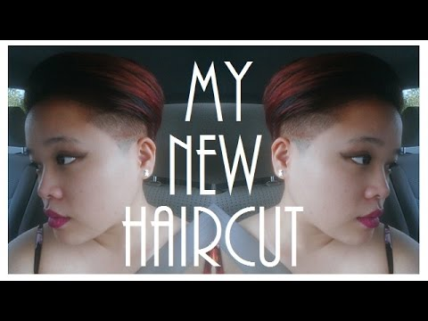 MY HAIRCUT   PIXIE UNDERCUT FADE
