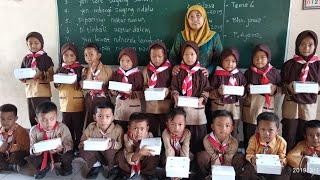 Syukuran Pemberian Shodaqoh Kepada Teman Kelas, Siswa-siswi Sdn Banaran 1 Kelas 1